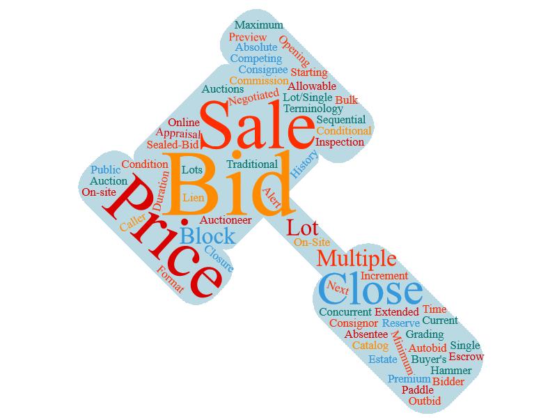 auction terms